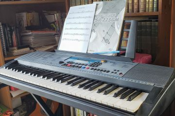 My yard sale Yamaha PSR-22GM